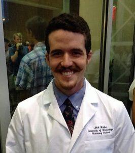 Nick Walker, Pharm.D. Student, Photo